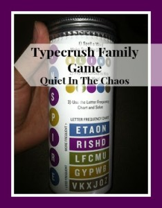 typecrush review: a fun family game