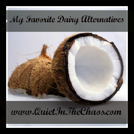 coconut as dairy alternative