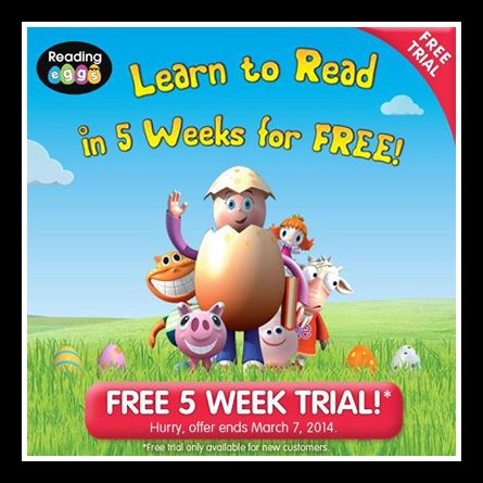 free trial reading eggs