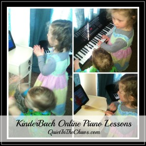 Online piano lessons ages 3-7 KinderBach