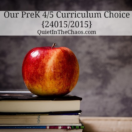 curriculum choice 2014/2015 Sonlight