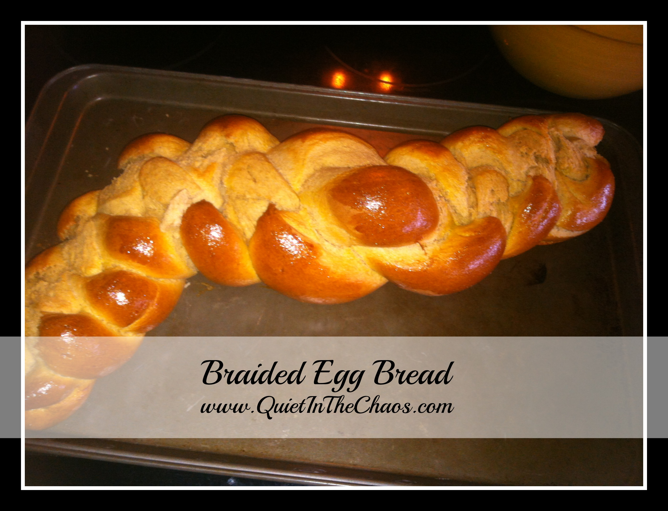 Braided Egg Bread {with allergy alternatives}