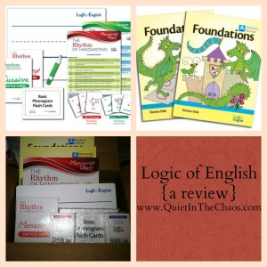 Logic of English {a review}