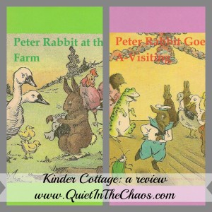 Peter Rabbit Tales: Kinder Cottage {a review}