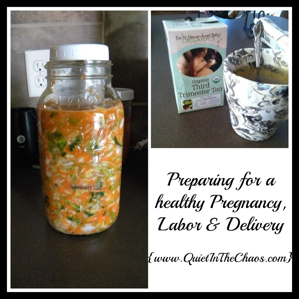 Natural, healthy labor and delivery