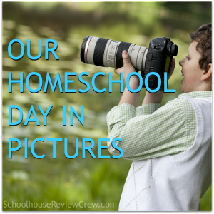 Our Homeschool Day in Pictures {Quiet in the Chaos}