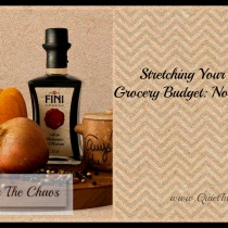 Stretching Your Real Food Grocery Budget {Quit In The Chaos}