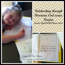 notebooking American Girl Books