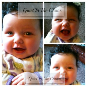Baby Summary- 11 weeks {QuietInTheChaos.com}