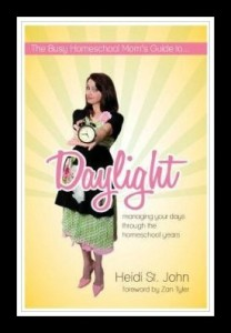 Homeschool Mama's Encouragement The Busy Homeschool Mom's Guide to Daylight {a review}