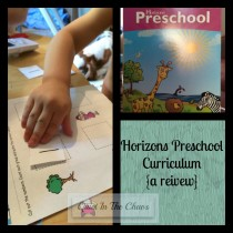 Horizons Preschool Set {a review}