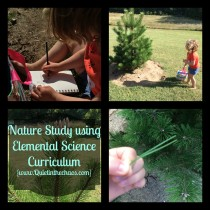 Nature Study using Elemental Science Curriculum
