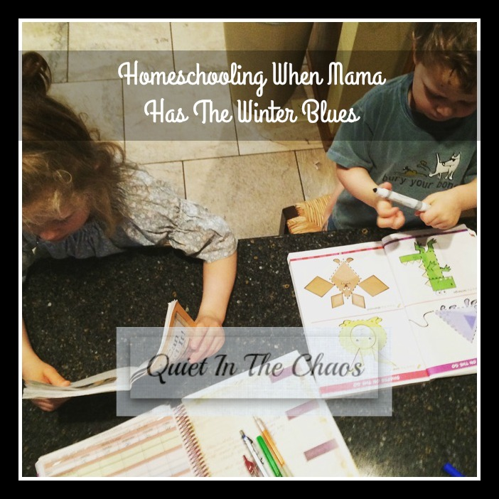 Homeschooling When mama Has The Winter Blues