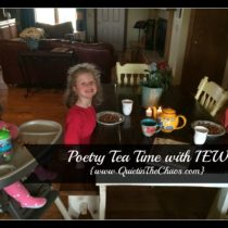 Poetry Tea Time with IEW