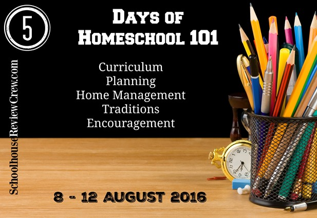 5 Days of Homeschool 101 BLOG HOP