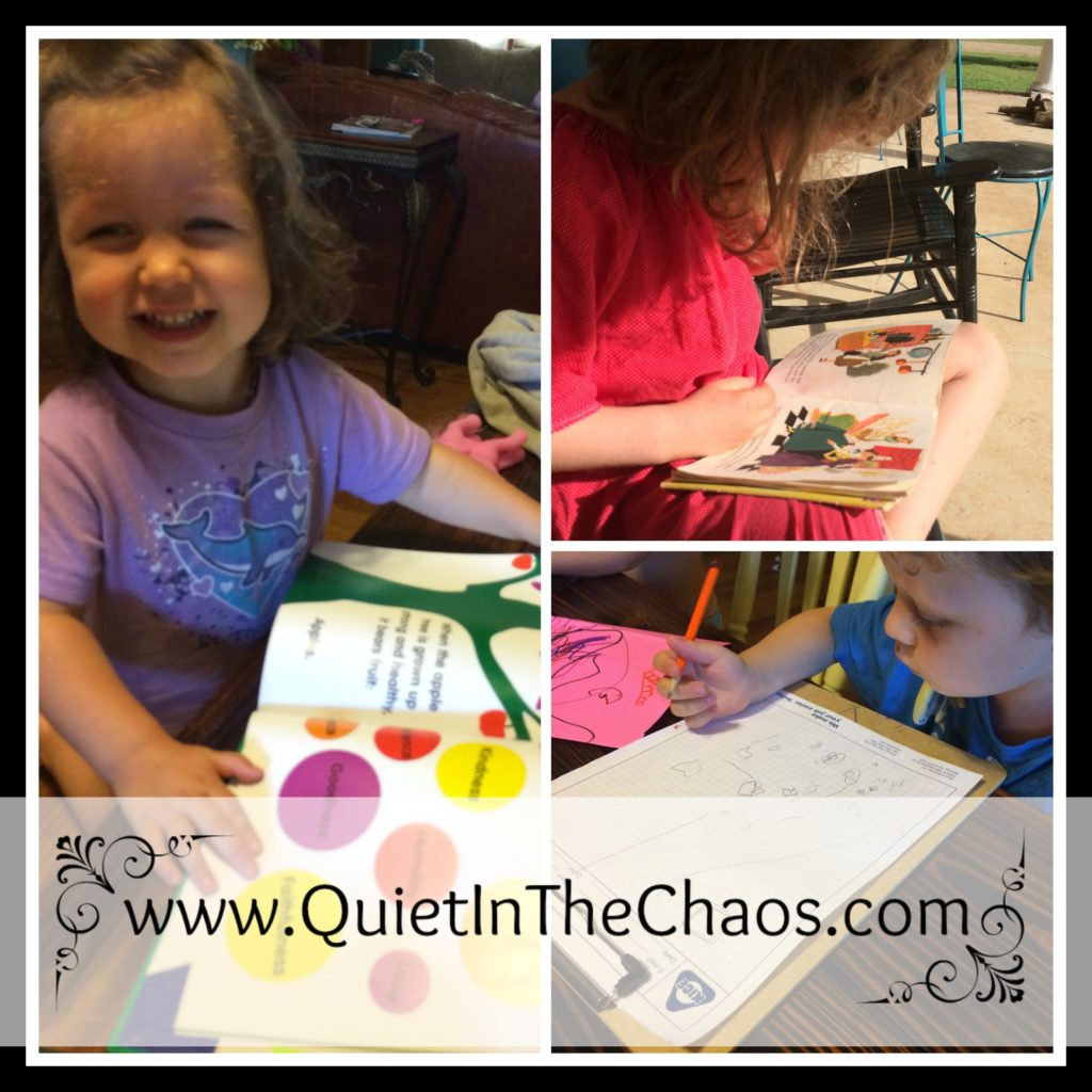 First Week of Homeschool {2016/2017}