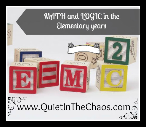 Math & Logic in the Elementary Years {VCF 2017}