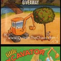 Giveaway {Anna Dewdney's Little Excavator}