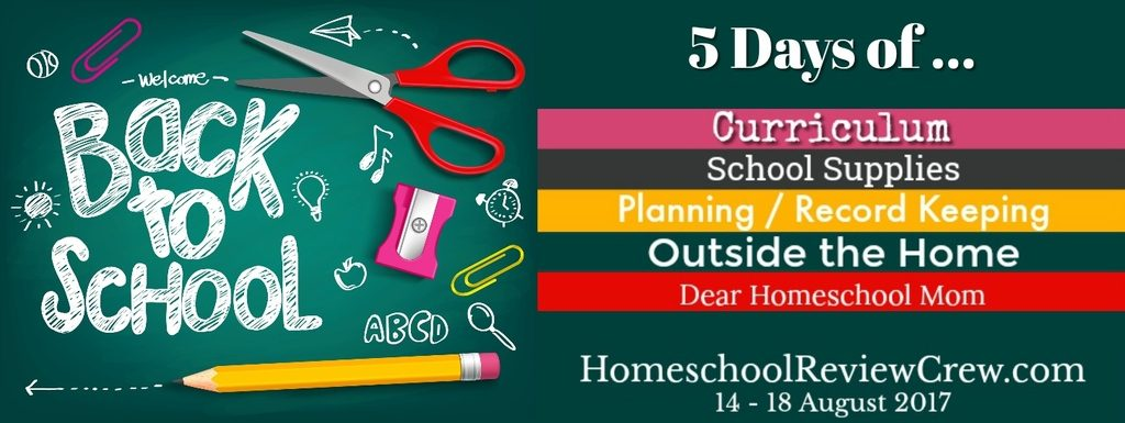 5 Days of Back to Homeschool 2017