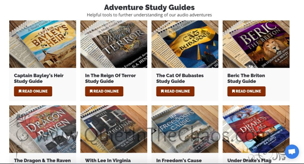 Study Guides in Live the Adventure