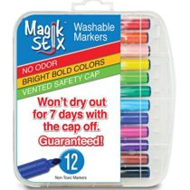 Magic Stix art supplies markers won't dry out