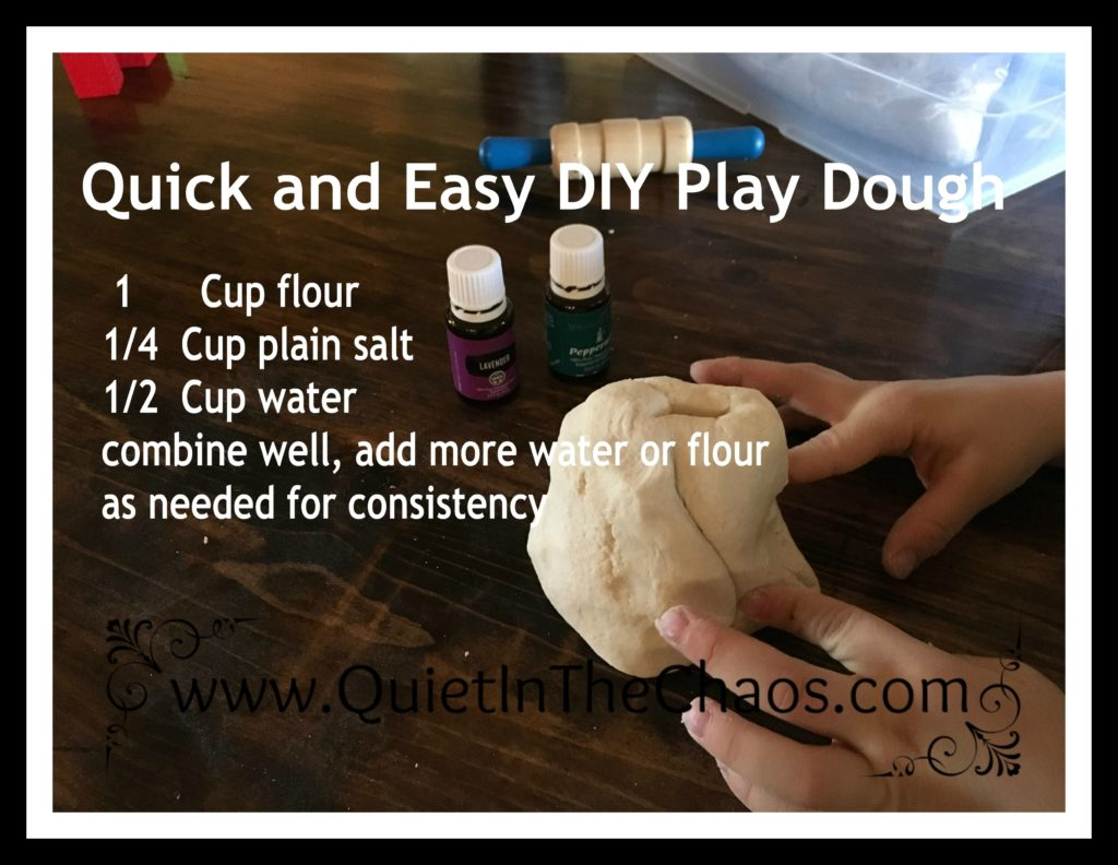 Easy DIY Play Dough
