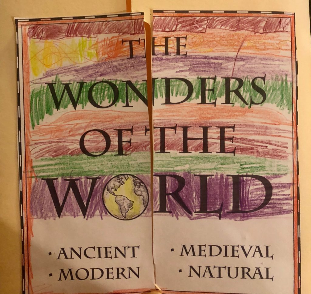 Wonders of the World History Lap Pak
