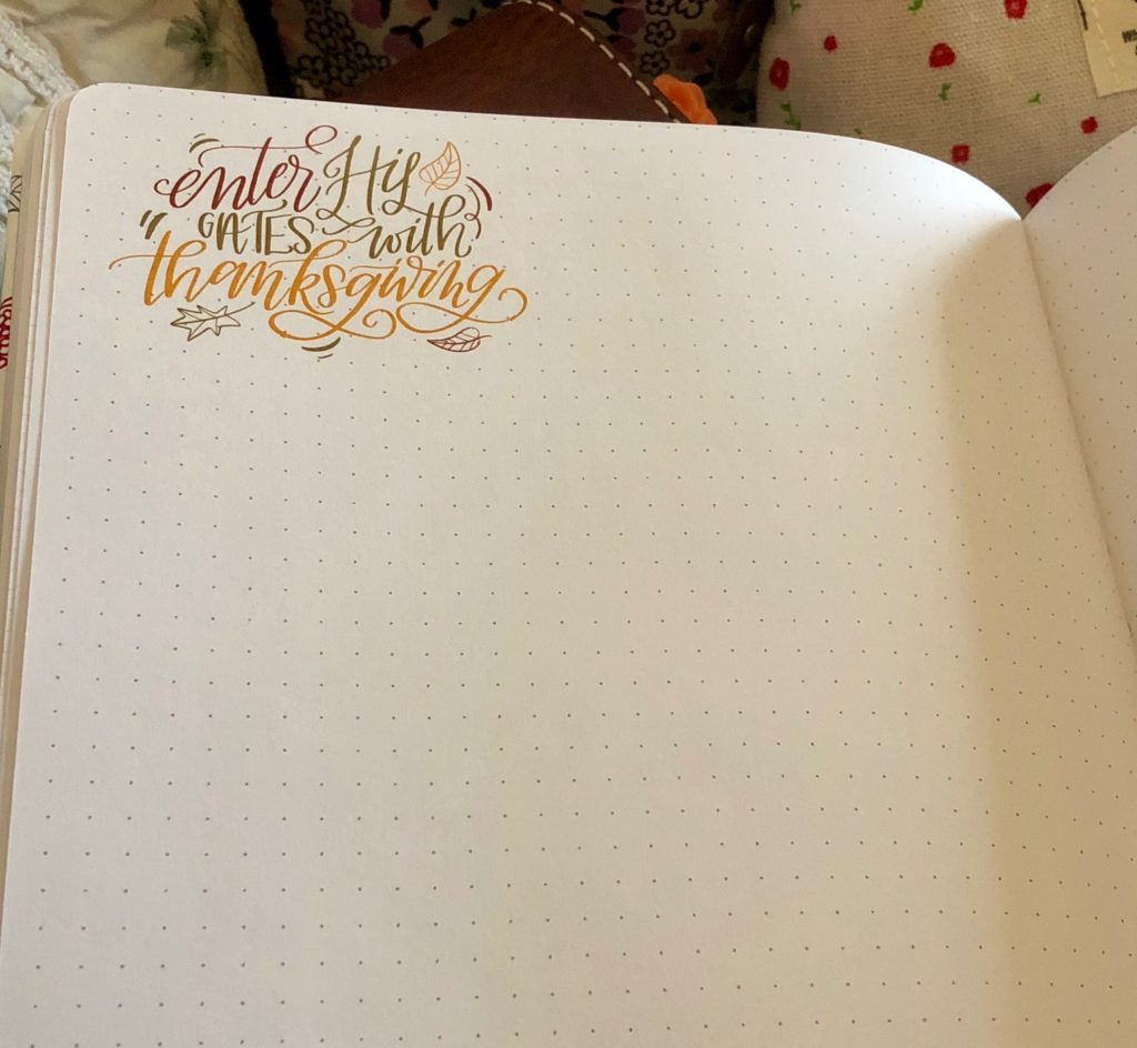 Faith and Lettering doodles