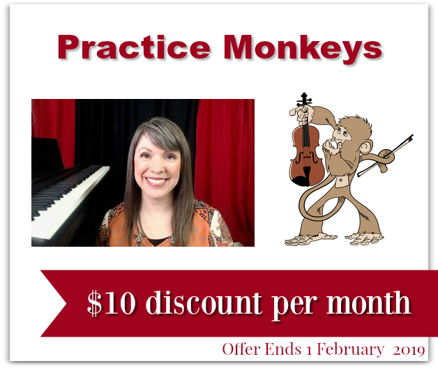 Violin Lessons Discount for Readers!