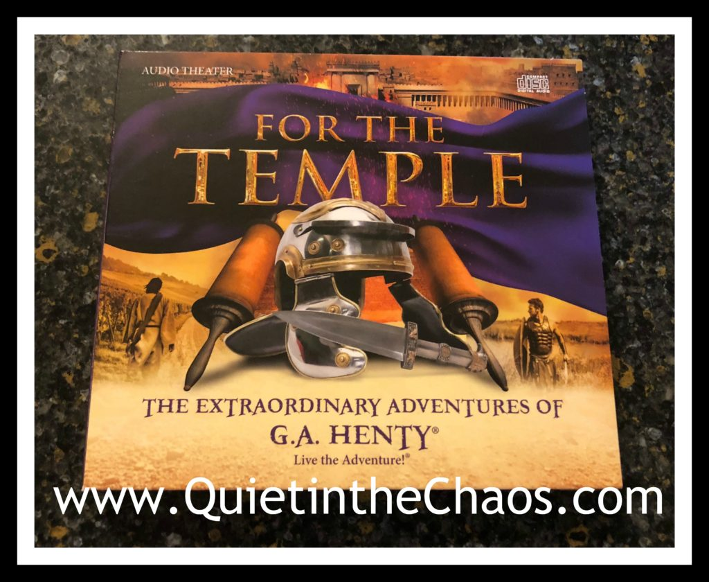 For the Temple {GA Henty Adventures}