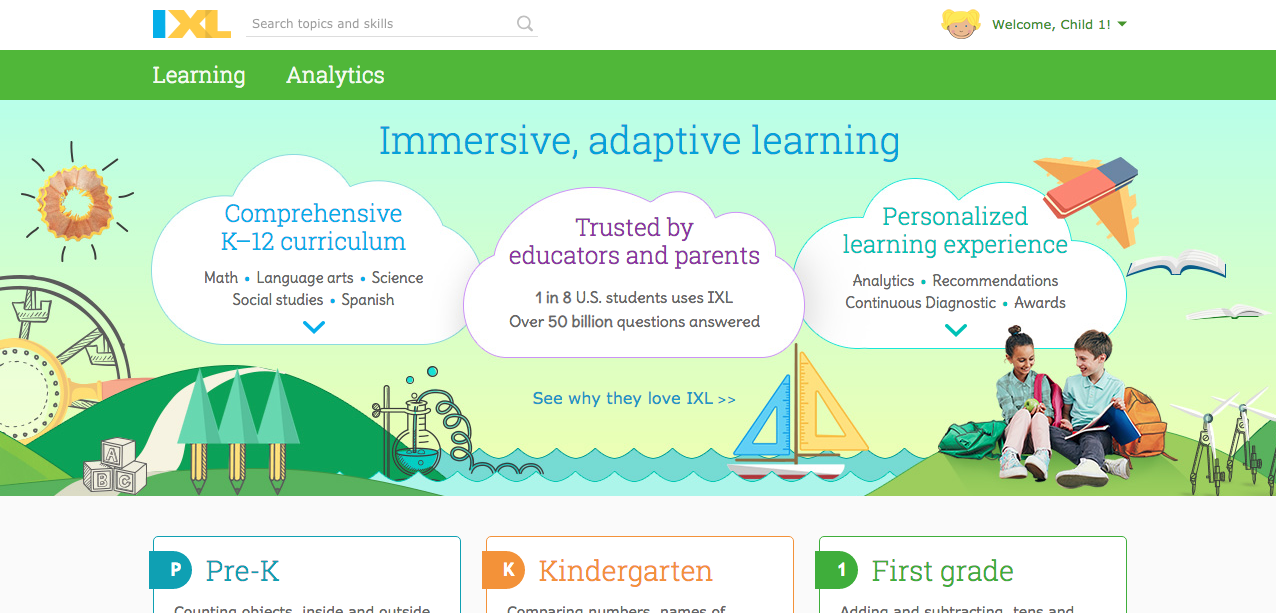 IXL Learning-For all Children