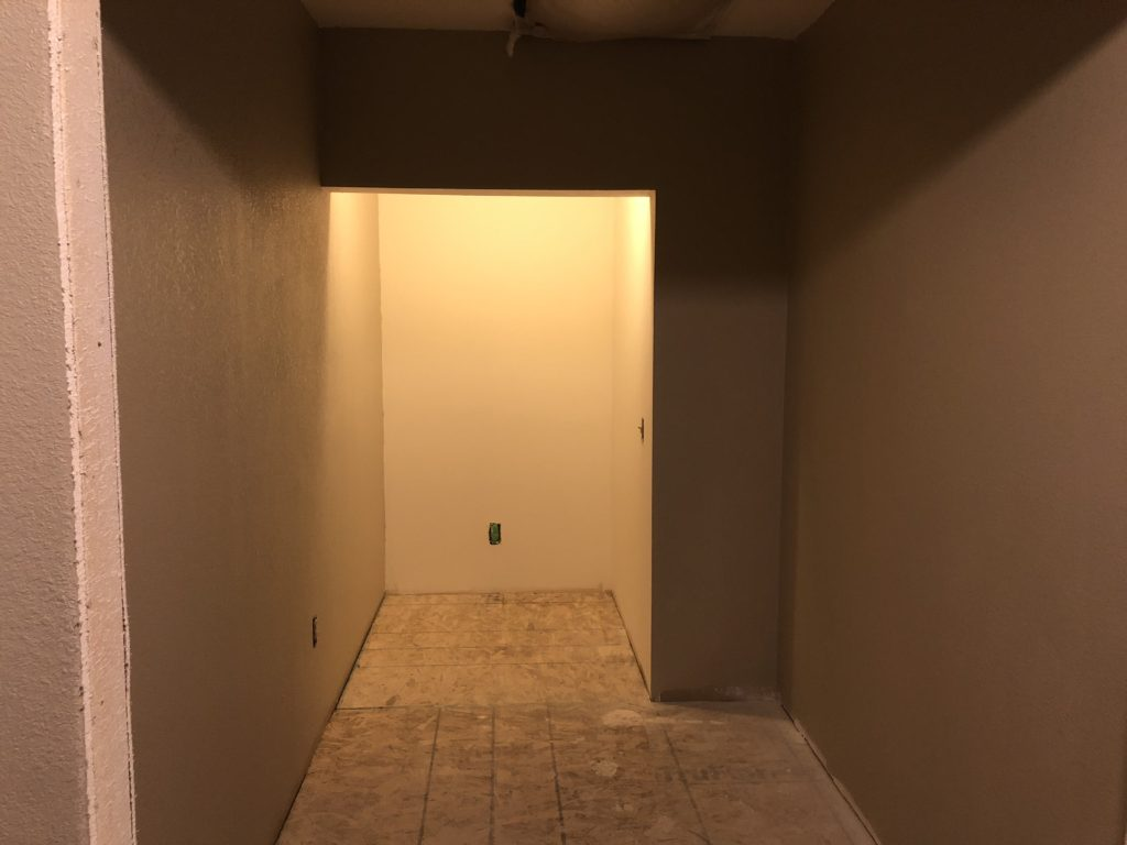 HUGE walk in pantry and fridge nook