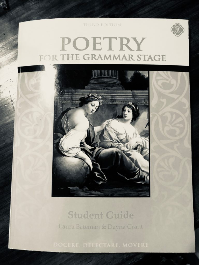 Poetry for the Grammar Stage with Memoria Press