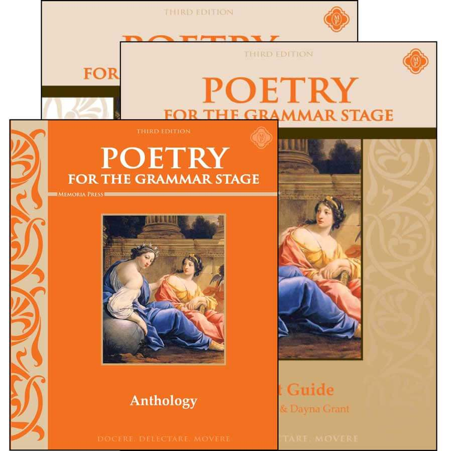 Poetry for the Grammar Stage Memoria Press