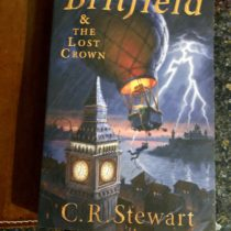 Britfield and the Lost Crown- a new favorite mid grade novel