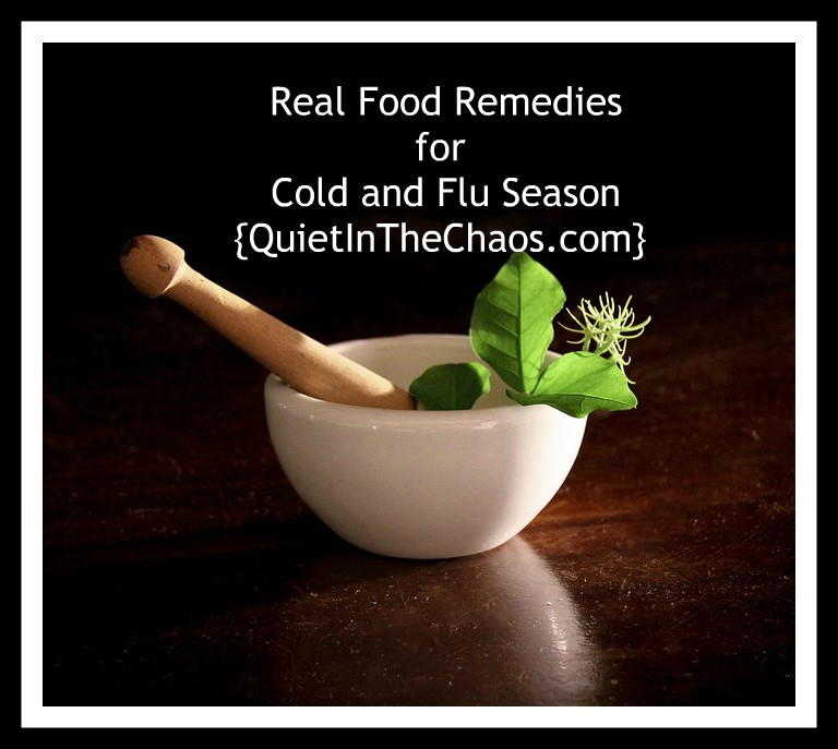 Real Food Remedies for Cold and Flu Season