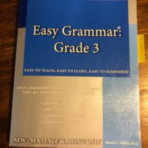 Easy Grammar Systems- homeschool grammar and writing