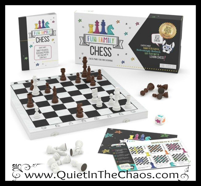 fun family chess game in the box