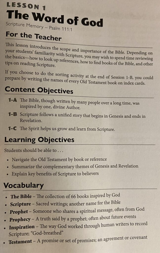 Possessing the Land Positive Action Bible Curriculum Elem.